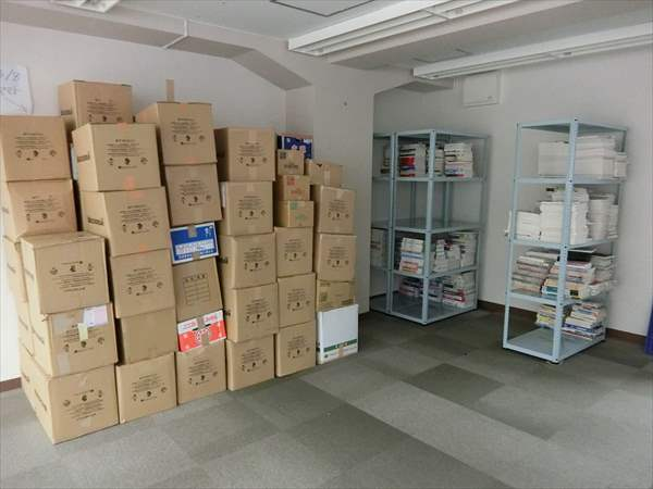 買取商品の保管スペースを新たに拡大しました