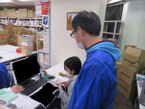 ブックスドリームスタッフ紹介♪ 検品・査定部門17